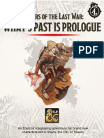 DDAL-ELW00 - What's Past is Prologue