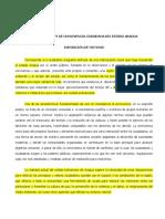 Comentarios y Reflexiones Ante El Proyecto de Ley de Convivencia Del Estado Aragua