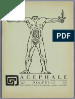 Acephale, n3. [FR]