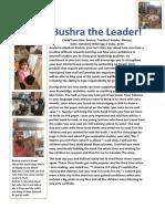 Bushra the Leader!