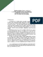 Derecho Internacional Publico Derecho Internacional Humanitario y Derecho Internacional de Los Derechos Humanos