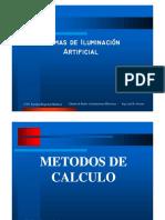 Metodos de Cálculo Iluminación Rev2019