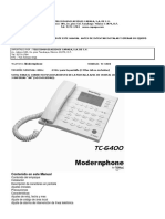 Telefono Tc 6400