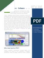 syncrhro pro data sheet