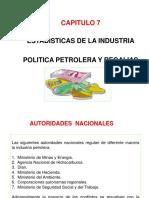 CAP VII Politica Petrolera y Regalias FPB