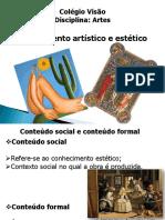 Apresentação de Artes