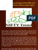 The Best Trading Strategy to Find Nifty and Bank Nifty Direction Before Market Open