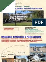 Dimensiones de análisis de la práctica docente
