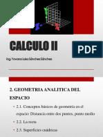 Tema 2 Geometria Analitica en El Espacio