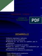 cristalización UNIDAD III