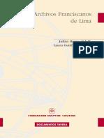 Archivos Franciscanos de Lima