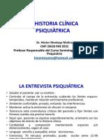 La Historia Clínica Psiquiatrica