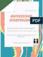 Habilidades y Competencias Digitales en La Educación..