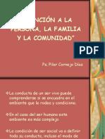 3.- Persona, Familia, Comunidad