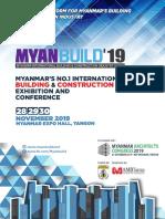 Myanbuild 19 Brochure