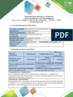Guía de Actividades y Rúbrica de Evaluación - Tarea 6 - Final, Prueba Nacional (1)