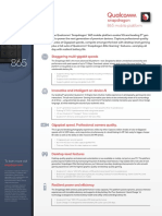 Qualcomm Snapdragon 865 5g Mobile Platform Product Brief