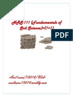 Fundamentals of Soil Science