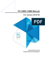 Eng Pcdmis 2018r2 Cmm Manual