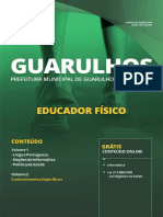 Prefeitura de Guarulhos SP 2019 Educador Físico