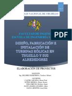 Informe Del Proyecto de Turbinas Eólicas