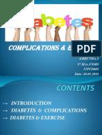 Diabetes-complication & exercise.pptx