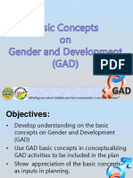 Basic Concepts on GAD