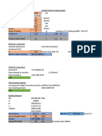 Isolated Footing Design(Square footing).xlsx
