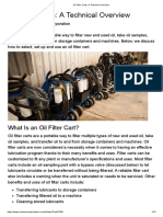 Oil Filter Carts_ a Technical Overview