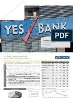 Investment Brief - Yes Bank