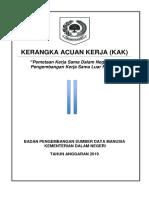 4. TOR - Pemetaan Kerja Sama Dalam Negeri Dan Luar 2019