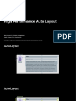 220 High Performance Auto Layout