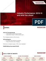 Industry Performance2018 19 and What Lies Ahead 0