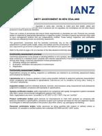 IA3 Conformity Assessment