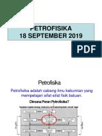 Course Petrofisika