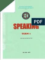 speaking term