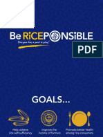 Be RICEponsible Campaign