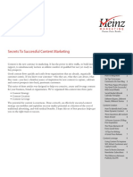 Successful Content Marketing Example