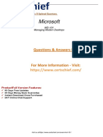 MD-101 PDF Training Guides Preparation Material