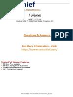 NSE7_ATP-2.5 Preparation Material Practice 2019
