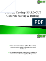 Concrete Cutting Services in Sydney - Hard Cut Concrete Sawing