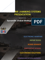 2019 RCIED Bomb Jammer Counter-IED Presentation by DGS