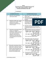 5 Draf Ki Kd Bahasa Arab Tk Mi