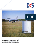 Urban Dynamite Drone Detection Radar Micro-Doppler Brochure 2019