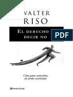 Autoestima-El Derecho a Decir No_WalterRiso