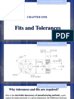 Chapter 1 (Fits and Tolerance)