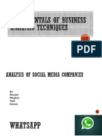 Fundamentals of Business Analysis Techniques Project.pptx ZXCVV SAIRAM