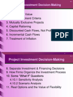project investment analysis