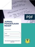Contoh cover jurnal resep