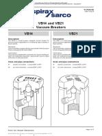 Vacuum Breaker Ruptor Vacuum VB14 TI P019 02 En